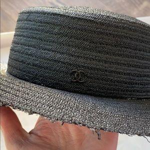 Chanel Black Sun Hat